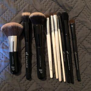Clean E.L.F Brush Set